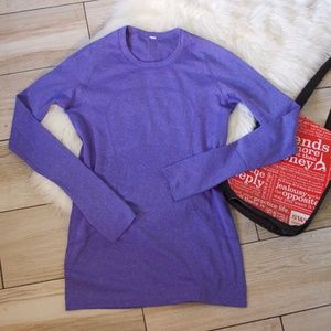 NWOT!! Run Swiftly Tech Long Sleeve - Purple